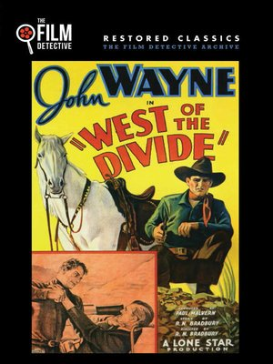 cover image of West of the Divide