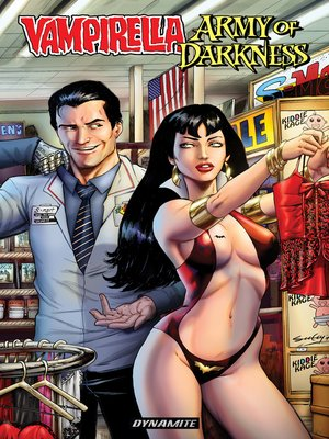 cover image of Vampirella/Army of Darkness