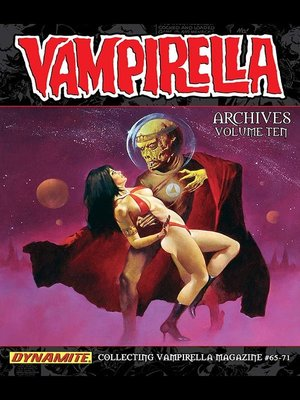 cover image of Vampirella Archives, Volume 10