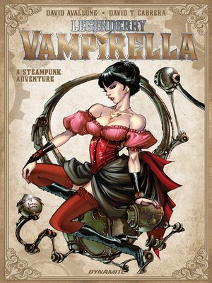 cover image of Legenderry: Vampirella