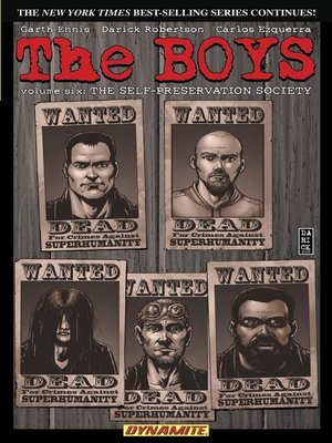 cover image of The Boys (2006), Volume 6