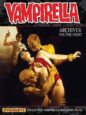 cover image of Vampirella Archives, Volume 8