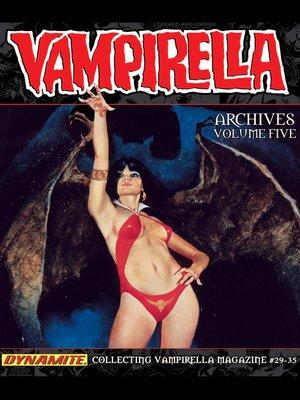 cover image of Vampirella Archives, Volume 5
