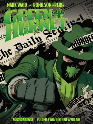 cover image of The Green Hornet (2013), Volume 2