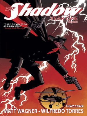cover image of The Shadow: Year One