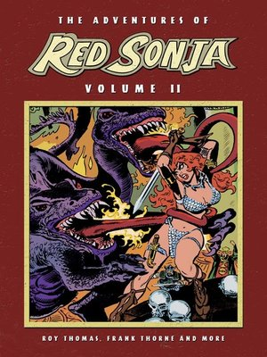 cover image of The Adventures of Red Sonja, Volume 2