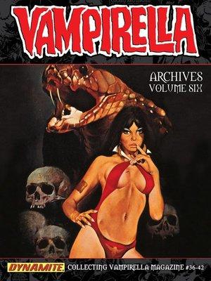 cover image of Vampirella Archives, Volume 6