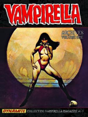 cover image of Vampirella Archives, Volume 1