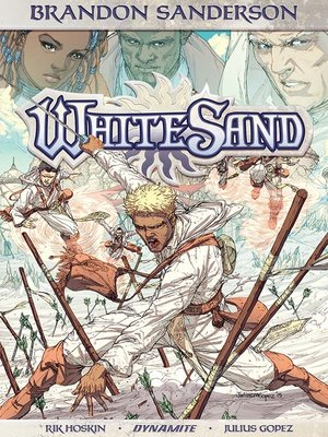 cover image of Brandon Sanderson's White Sand