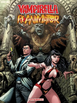 cover image of Vampirella vs. Reanimator