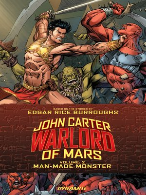 cover image of John Carter: Warlord of Mars (2014), Volume 2