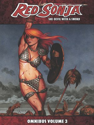 cover image of Red Sonja (2005): She-Devil with a Sword, Omnibus Volume 3