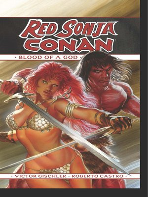 cover image of Red Sonja/Conan: The Blood of a God