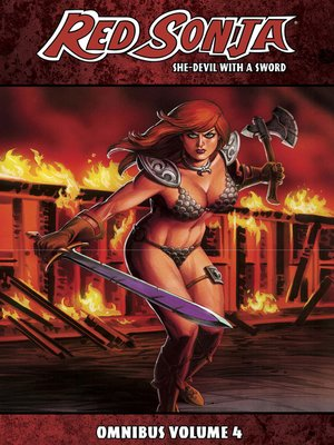 cover image of Red Sonja: She-Devil With A Sword, Omnibus Volume 4