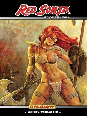 cover image of Red Sonja (2005): She-Devil with a Sword, Volume 5