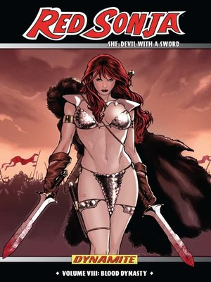 cover image of Red Sonja (2005): She-Devil with a Sword, Volume 8