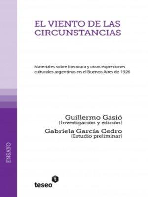 cover image of El viento de las circunstancias