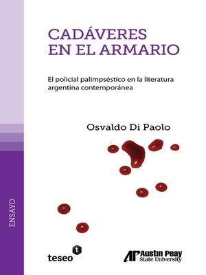 cover image of Cadáveres en el armario