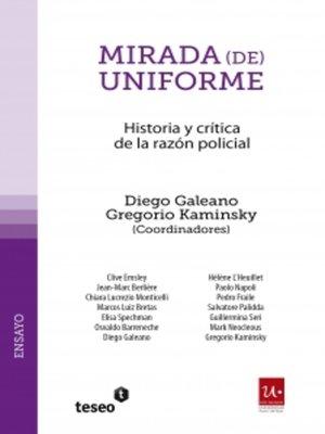 cover image of Mirada (de) uniforme