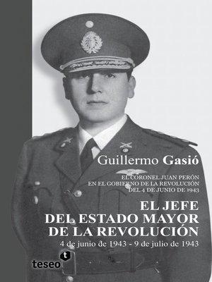 cover image of El Jefe del Estado Mayor de la Revolución