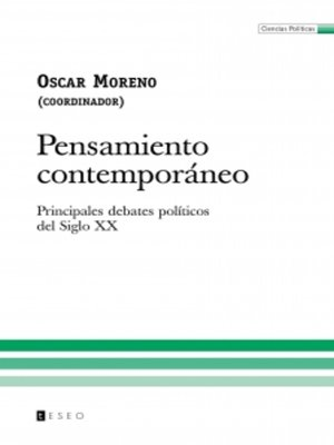 cover image of Pensamiento contemporáneo