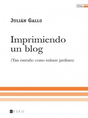 cover image of Imprimiendo un blog