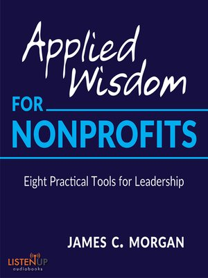 cover image of Applied Wisdom for Non-Profits