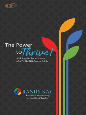 cover image of The Power to Thrive!