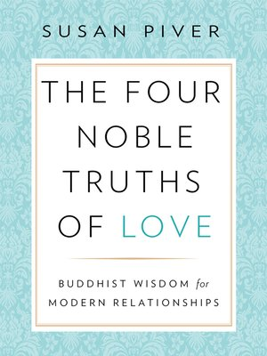 cover image of The Four Noble Truths