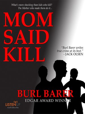 cover image of Mom Said Kill