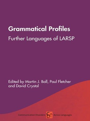 cover image of Grammatical Profiles