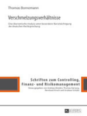 cover image of Verschmelzungsverhaeltnisse
