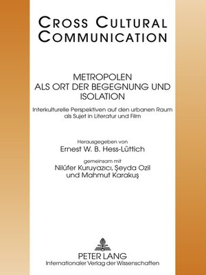 cover image of Metropolen als Ort der Begegnung und Isolation