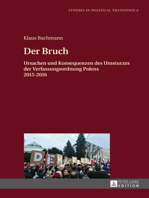 cover image of Der Bruch