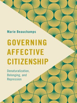 cover image of Governing Affective Citizenship