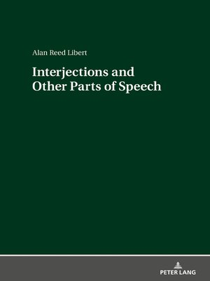 cover image of Interjections and Other Parts of Speech