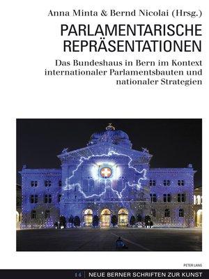 cover image of Parlamentarische Repraesentationen