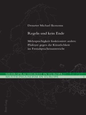 cover image of Regeln und kein Ende