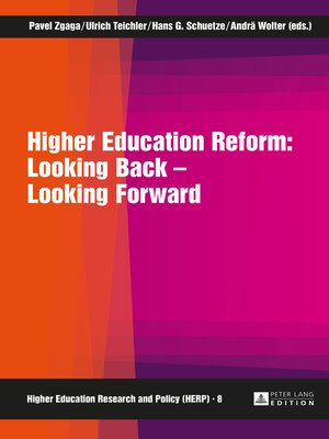 cover image of Higher Education Reform