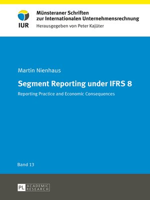 cover image of Segment Reporting under IFRS 8