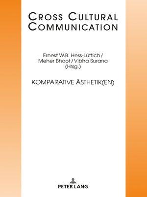 cover image of Komparative Aesthetik(en)