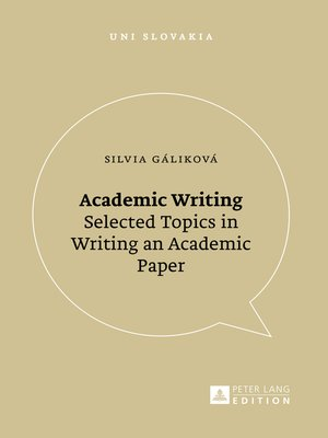 cover image of Academic Writing