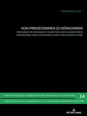 cover image of Von Prinzessinnen zu Koeniginnen