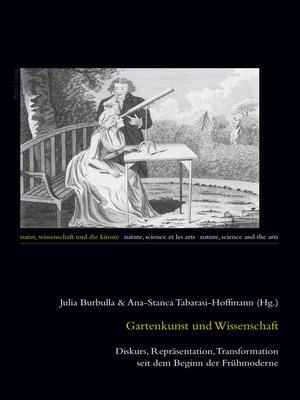 cover image of Gartenkunst und Wissenschaft