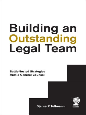 cover image of Building an Outstanding Legal Team
