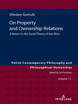 cover image of On Property and Ownership Relations