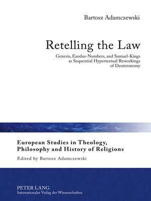 cover image of Retelling the Law