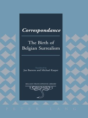 cover image of Correspondance