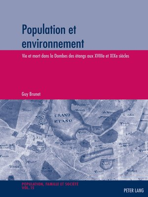 cover image of Population et environnement