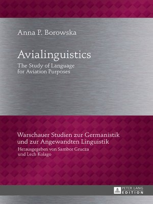 cover image of Avialinguistics